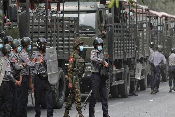 میانمار میں فوجی بغاوت کے خلاف عوامی احتجاج جاری/ اب تک 500 سے زائد افراد ہلاک