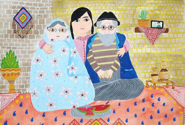 کودک لارستانی در مسابقه نقاشی «هیکاری» ژاپن درخشید