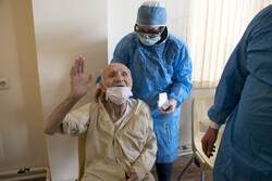 Vaccination for elderly in Tabriz