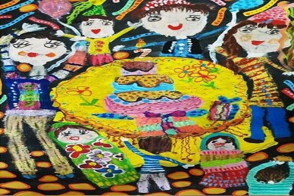 طفل ايراني يحصل على ميدالية فضية لمسابقة الرسم الهيكاري اليابانية