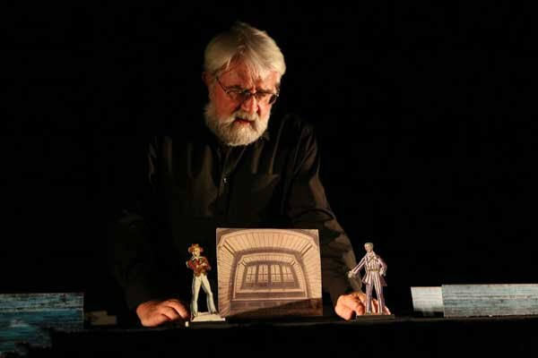 پیام آلن لکوک به نخستین مسابقه مجازی تئاتر کاغذی