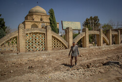 عملیات عمرانی بافت تاریخی شیراز ۱۰ روز مانده به نوروز