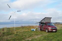تولید توربین بادی قابل حمل برای تامین برق طبیعت گردان