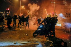 اعتراضات علیه خشونت پلیس در آتن