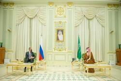 لاوروف و ولیعهد سعودی دیدار کردند