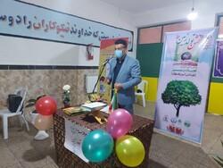 پویش «هر دانش آموز، یک نهال» در گرگان برگزار شد