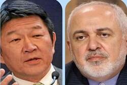 Iranian, Japanese FMs review latest intl. developments
