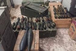 کشف و انهدام ۴۰ بمب آماده انفجار در استان الانبار