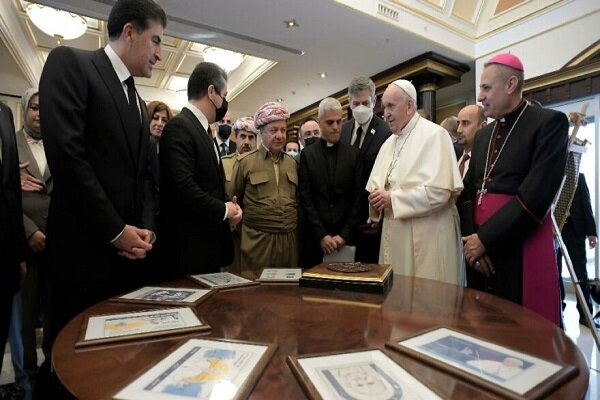 Ankara'dan Erbil'e Papa'ya verilen pul tepkisi