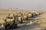 US convoy target in Iraqi southern governate