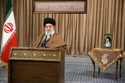 İslam Devrim Lideri'nin bugünkü konuşmasından kareler