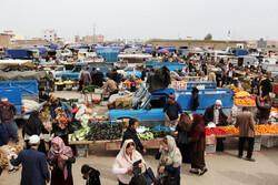 بازارچه های محلی ترکمن با چاشنی کرونا