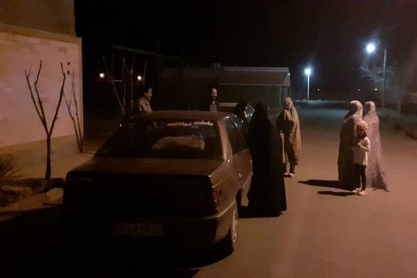 روستای حسین آباد مرکز زلزله شهرستان فردوس