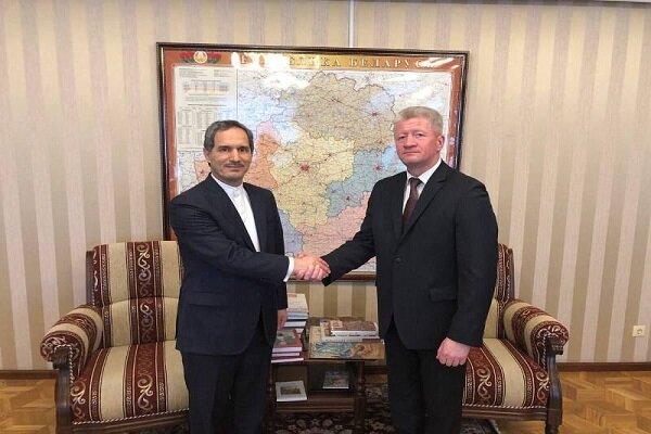 Tehran, Minsk emphasize developing artistic-cultural coop.