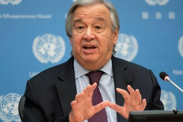 Risk of famine threatens 60% of Syrian people: UN chief says