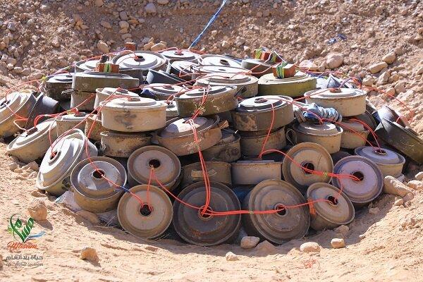 الاستخبارات العسكرية تضبط عبوات وصواعق غربي الانبار