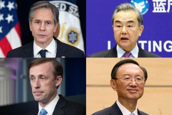 برگزاری نخستین دیدار مقامات دیپلماتیک آمریکا و چین در آلاسکا