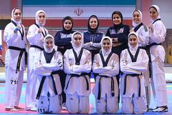 دختران تکواندوکار ایران ۶ مدال طلا، نقره و برنز کسب کردند