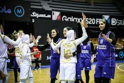 تیم بسکتبال بانوان بهمن
