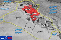 ابعاد عملیات استراتژیک نیروهای عراقی در ۴ استان+ نقشه میدانی