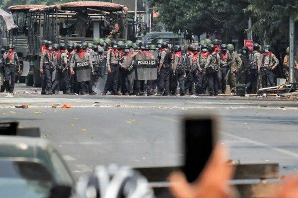 میانمار میں سکیورٹی فورسز کی فائرنگ سے ایک دن میں 82 افراد ہلاک