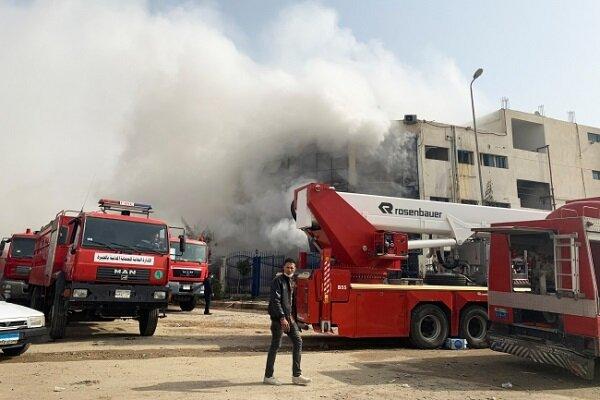 Mısır'da fabrikada yangın: 20 ölü