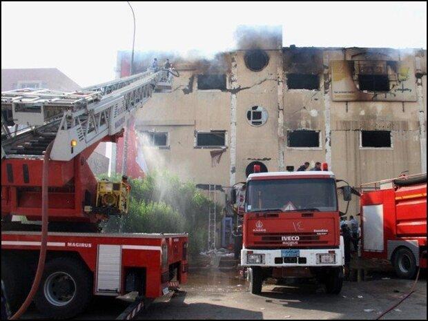 مصر میں ایک فیکٹری میں آگ لگنے کے باعث 20 افراد ہلاک