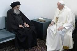 رئیس تشکیلات خودگردان فلسطین از «آیت الله سیستانی» قدردانی کرد
