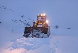راههای کوهستانی مسدود است/ مازندران سفیدپوش شد