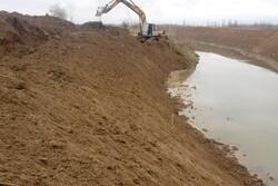 عملیات ساماندهی رودخانه جاماش در حال انجام است