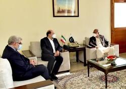 تعاون ايراني باكستاني في مجال التجارة