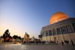 استقبال شهر رمضان المبارك في القدس