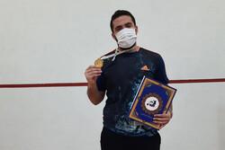 زارعیان قهرمان رقابتهای بین المللی اسکواش تهران شد