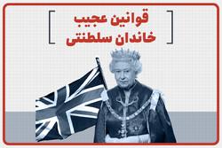 قوانین عجیب خاندان سلطنتی