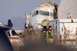 سقوط هواپیمایی نظامی در قزاقستان/ ۶ نفر کشته و زخمی شدند