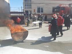 آمادهباش آتشنشانی کرمانشاه برای چهارشنبه آخر سال