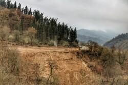 رانش زمین در روستای «سنگ نیشت»