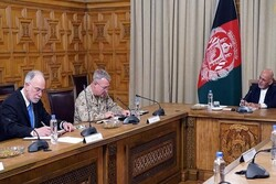 «کنث مککنزی» با رییسجمهور افغانستان دیدار کرد