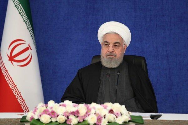 روحاني : لابد من ايجاد التوازن التنموي في شرق البلاد وغربها