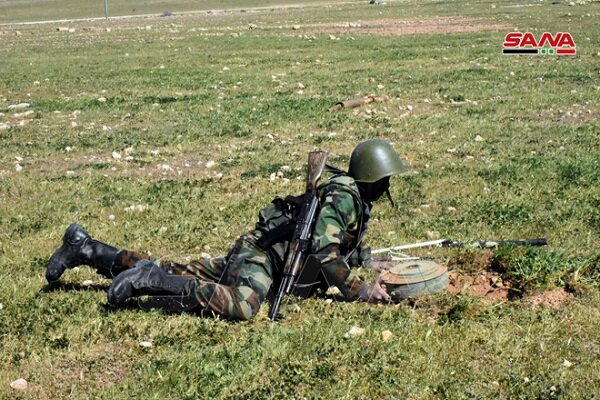Suriye ordusunun mayın temizleme faaliyetleri sürüyor
