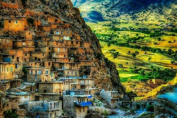 Uraman Village, stair-stepped heaven in W Iran