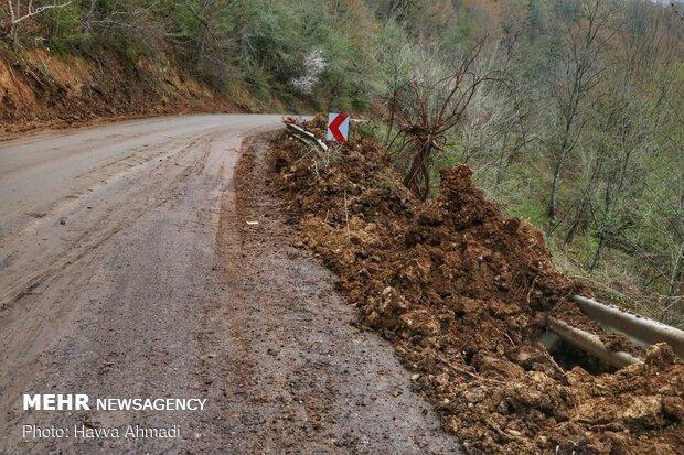 Landslide in northern village
