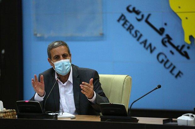 محدودیتهای کرونایی در ادارات استان بوشهر جدیتر گرفته شود