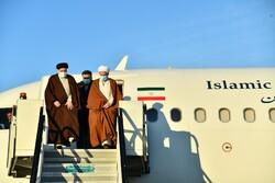 ایرانی عدلیہ کے سربراہ مازندران پہنچ گئے