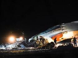 قزاقستان میں فوجی طیارہ تباہ / 4 اہلکار ہلاک