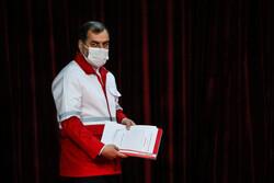 نشست خبری سخنگو و دبیر کل جمعیت هلال احمر