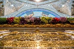 Hz. İmam Hüseyin (a.s) Türbesi çiçeklerle süslendi