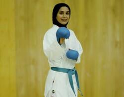 لاعبة الكاراتيه الايرانية تُصاب وتمنع من حضور نهائي دوري اسطنبول العالمي
