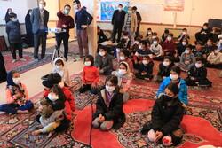اکران فیلم سینمایی در محله محروم ملاحسینی کرمانشاه