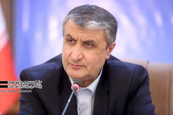 وزیر راه و شهرسازی ایران وارد باکو شد